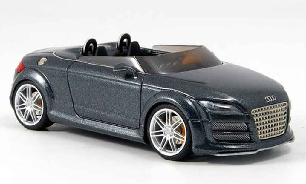 audi tt coupe club sport anthrazit 2007 1/43 - voiture-miniature