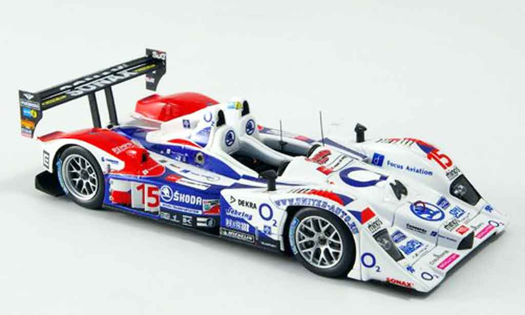 Lola B07 1/43 Spark 17 Judd No.15 Charouz Racing Le Mans 2007 miniature