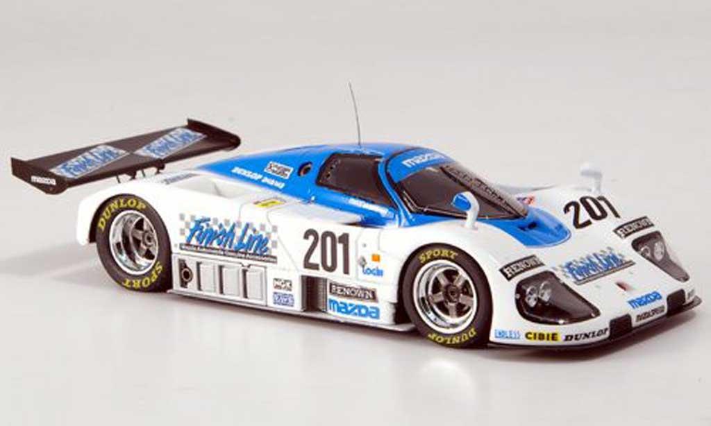 Mazda 767B 1/43 Spark No.201 Siebter Le Mans 1989 miniature