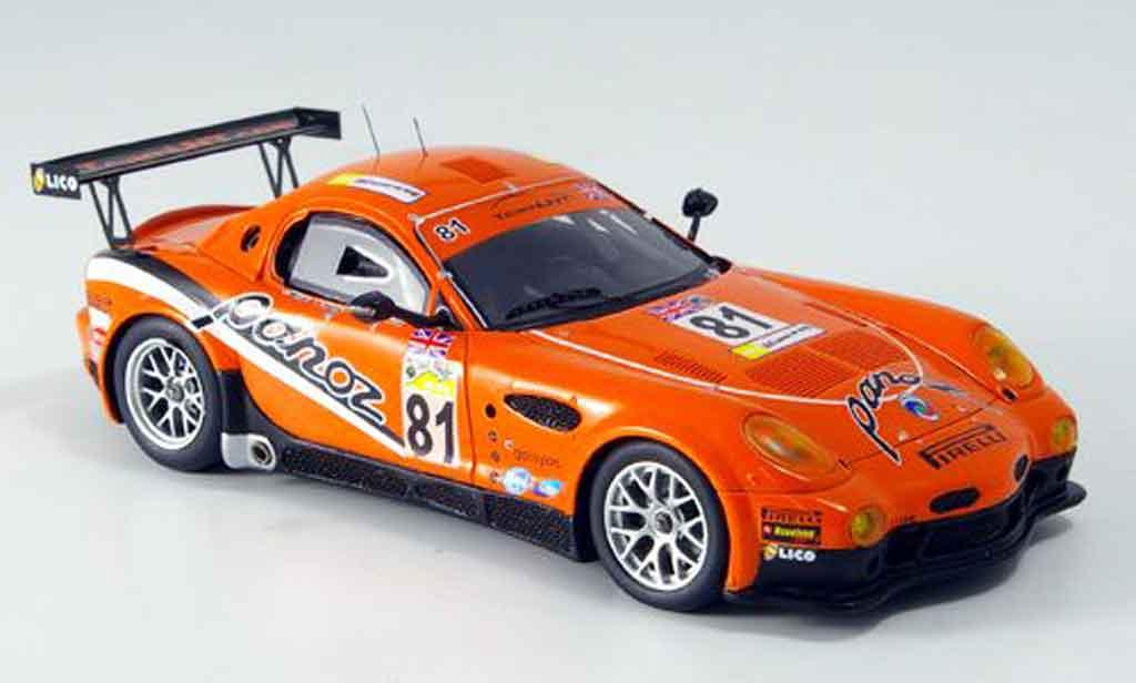 Panoz Esperante 1/43 Spark LM GT No.81 Le Mans 2007 miniature