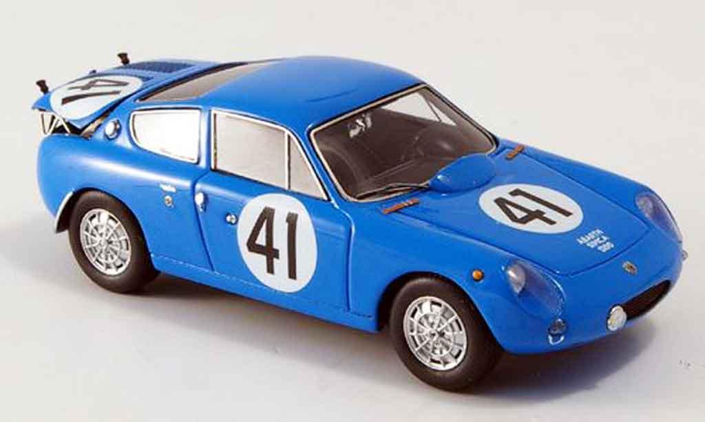 Simca 1300 1/43 Spark abarth no.41 de lageneste/rolland le mans 1962 diecast