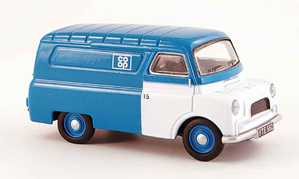 Bedford CA 1/43 Oxford Van grun blanche CO OP Kasten miniature