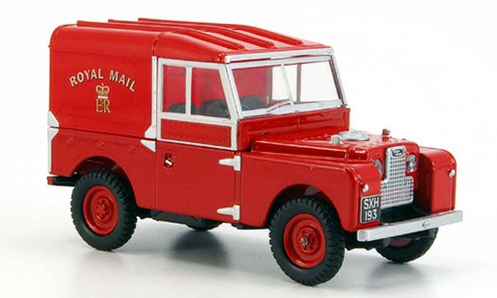 Land Rover 88 1/43 Oxford rouge Royal Mail miniature