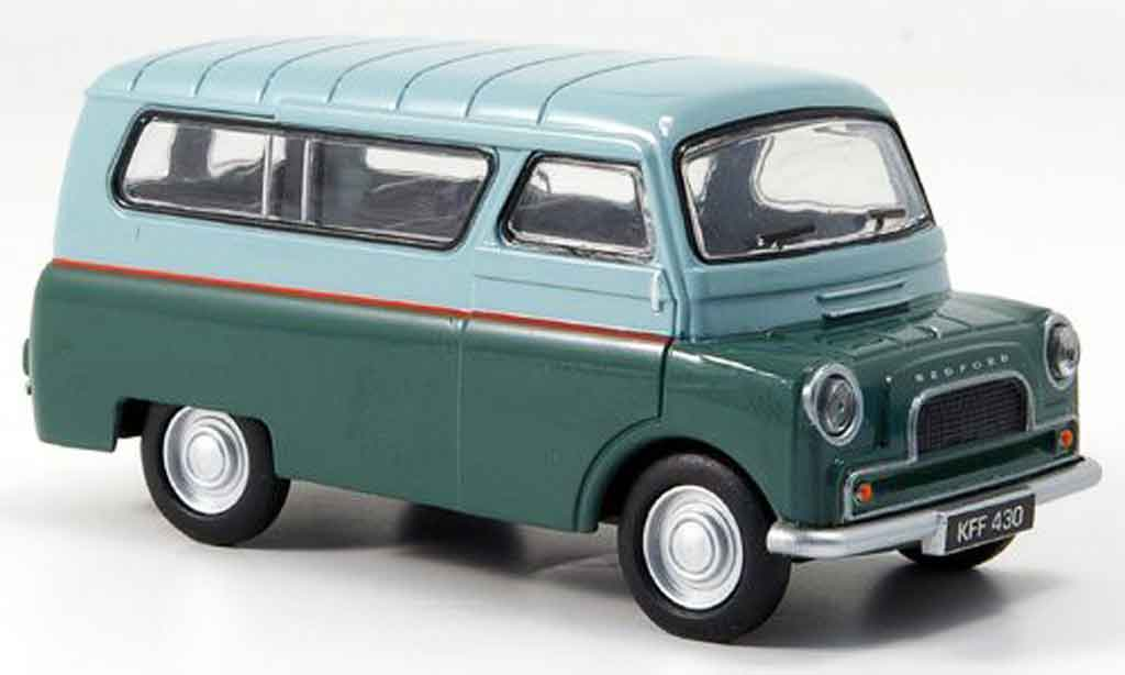 bedford ca camper van gray green fensterbus oxford diecast. Black Bedroom Furniture Sets. Home Design Ideas