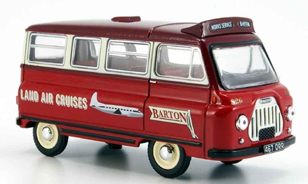 Morris J2 1/43 Oxford Minibus Bartons diecast model cars