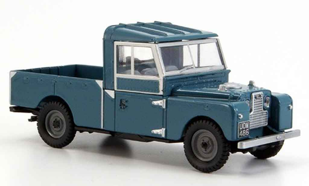 Land Rover 109 1/43 Oxford bleu Pick Up miniature