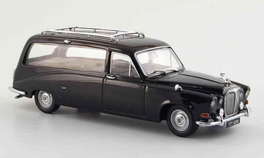 Daimler DS 420 1/43 Oxford Hearse noire Leichenwagen miniature