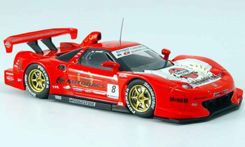 Honda NSX Super GT 1/43 Ebbro ARTA No.8 Champion 500 2007 miniature