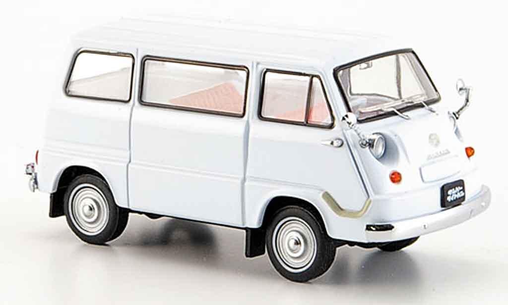 Subaru Sambar 1/43 Ebbro van grau minivan 1960 modellautos
