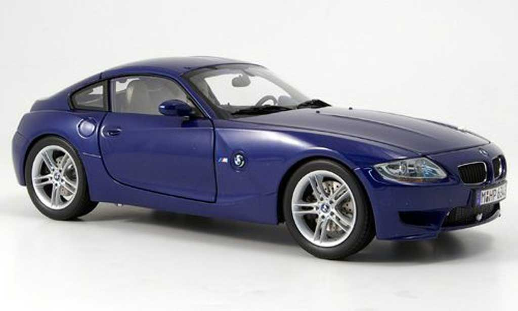 bmw z4 m coupe blau kyosho modellauto 1 18 kaufen verkauf modellauto online. Black Bedroom Furniture Sets. Home Design Ideas