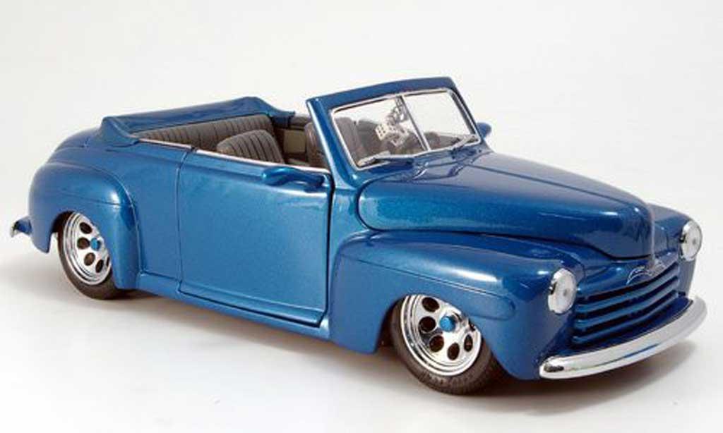 Ford Hot Rod 1/18 Yat Ming convertible verte offen 1948 miniature