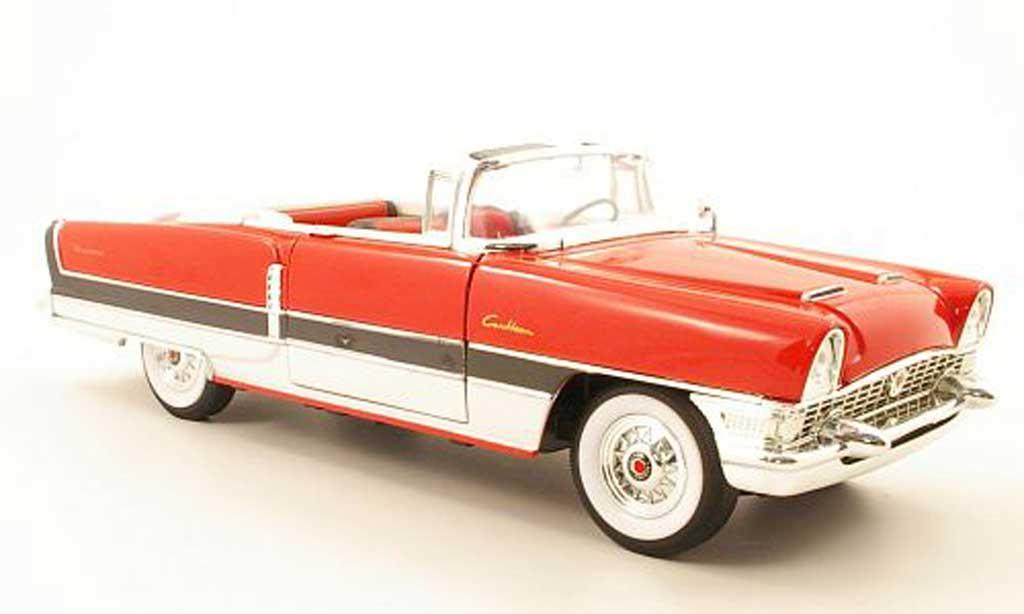 Packard Caribbean 1/18 Yat Ming rouge/noire/blanche  offen 1955 miniature