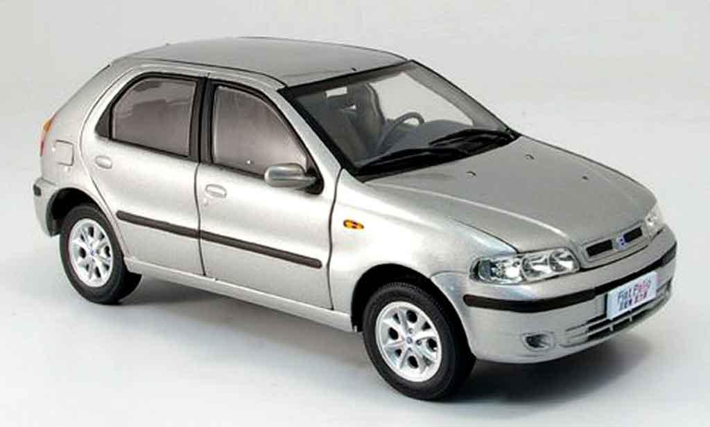 Fiat Palio Gris Mcw Coches Miniaturas 1 18 Comprar Venta