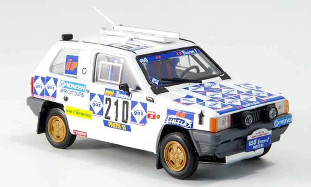 Fiat Panda 1/43 Brumm 4x4 No.210 Rallye Paris Dakar 1984 miniature