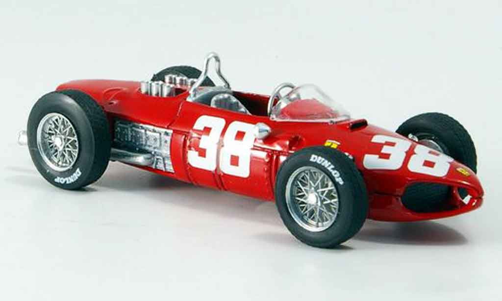 Ferrari 156 1961 1/43 Brumm no.38 p.hill dritter gp monte carlo miniature