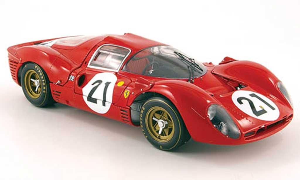 Ferrari 330 P4 No 21 Scarfiotti Parkes 24h Le Mans 1967 Gmp Diecast Model Car 1 18 Buy Sell