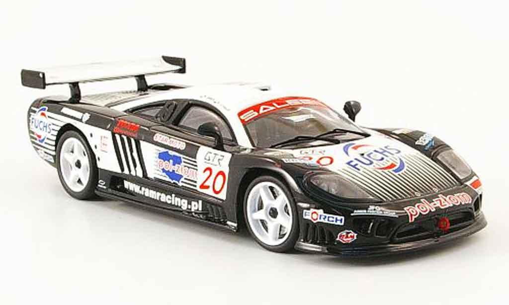 Saleen S7R 2005 1/43 IXO No.20 RAM Racing Janus Stanco FIA GT Monza miniature
