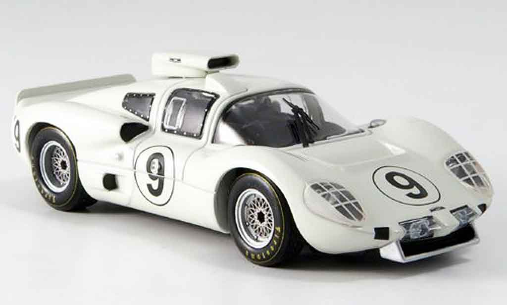 Chaparral 2D 1/43 IXO No.9 Hill Bonnier Le Mans 1966 miniature