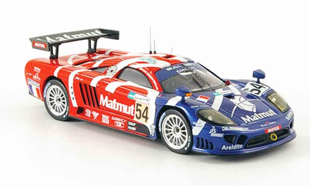 Saleen S7R 2007 1/43 IXO No.54 Groppi N.Prost Belloc Le Mans miniature