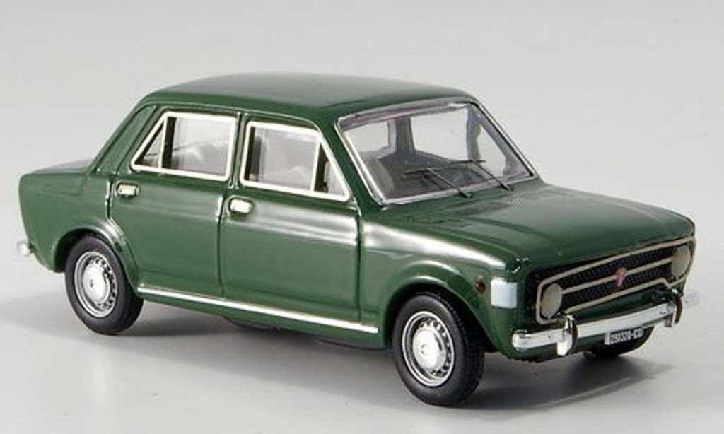 Fiat 128 1/43 Rio Rally 4-turer grun 1969 miniature