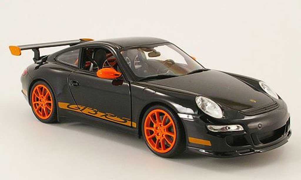 Porsche 997 GT3 RS 1/18 Welly rs black