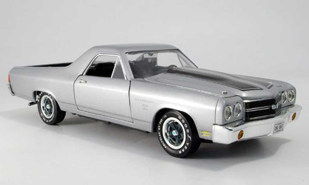 Chevrolet El Camino 1/18 Ertl ss grise 1970