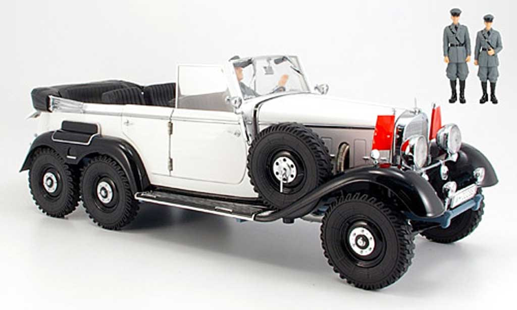Mercedes G4 1/18 Signature white/black (premium) 1938 diecast model cars