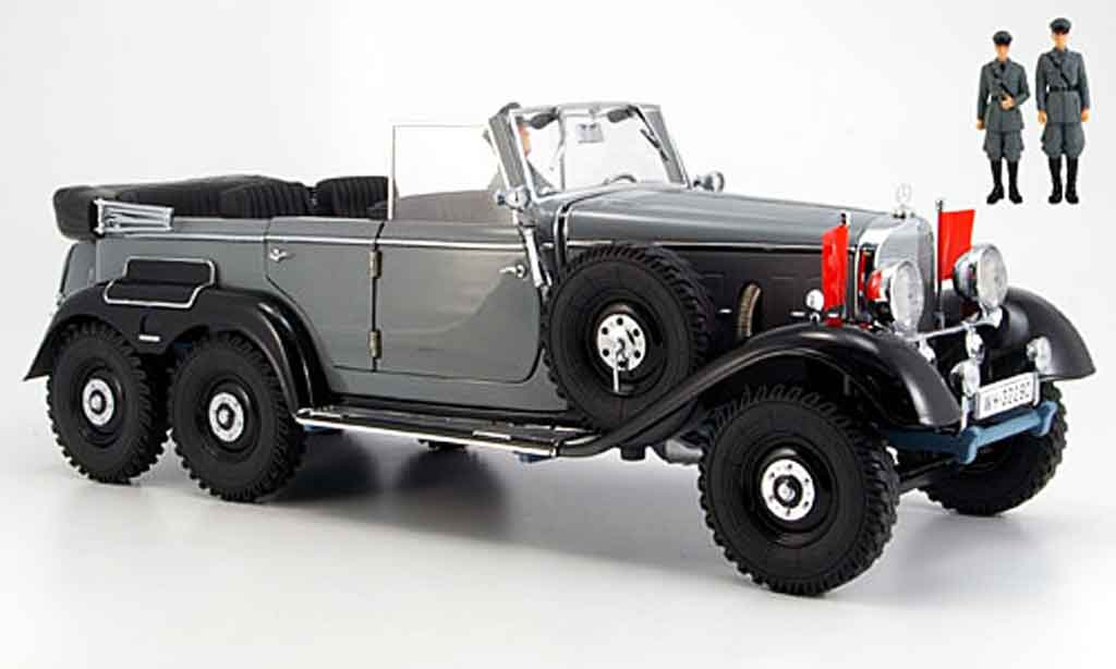 Mercedes G4 1/18 Signature grey (premium) 1938 diecast model cars