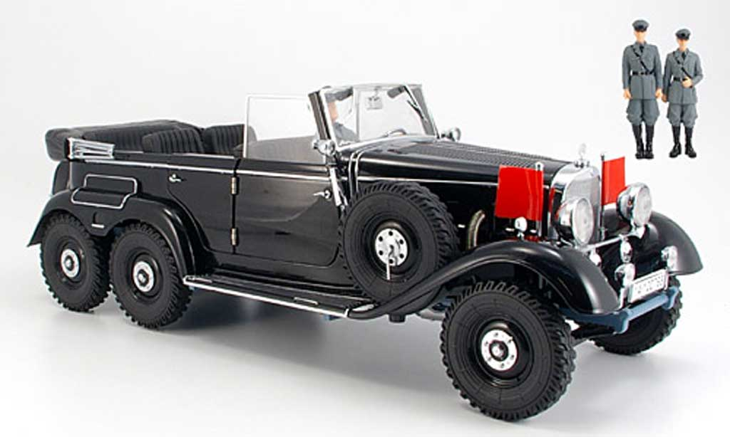 Mercedes G4 1/18 Signature black (Premium) 1938 diecast model cars