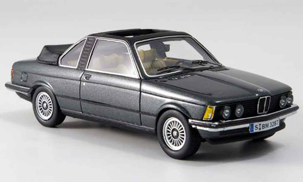Bmw 320 E21 1/43 Neo i (E 21) Baur Cabriolet grey 1979 diecast model cars