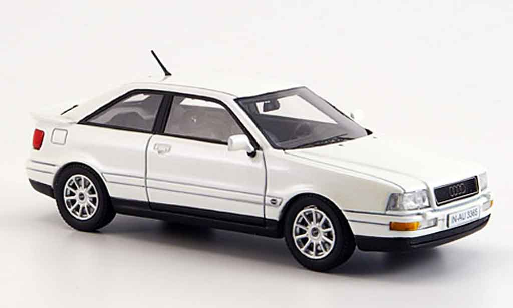 Audi Coupe GT 1/43 Neo white diecast model cars