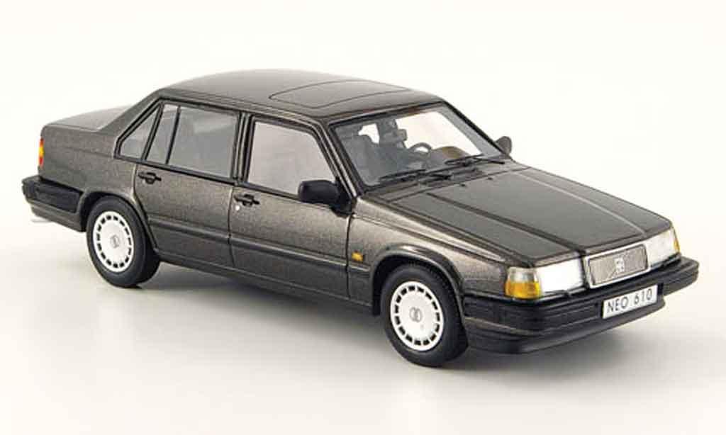 Volvo 940 1/43 Neo GL anthrazit 1992 miniature