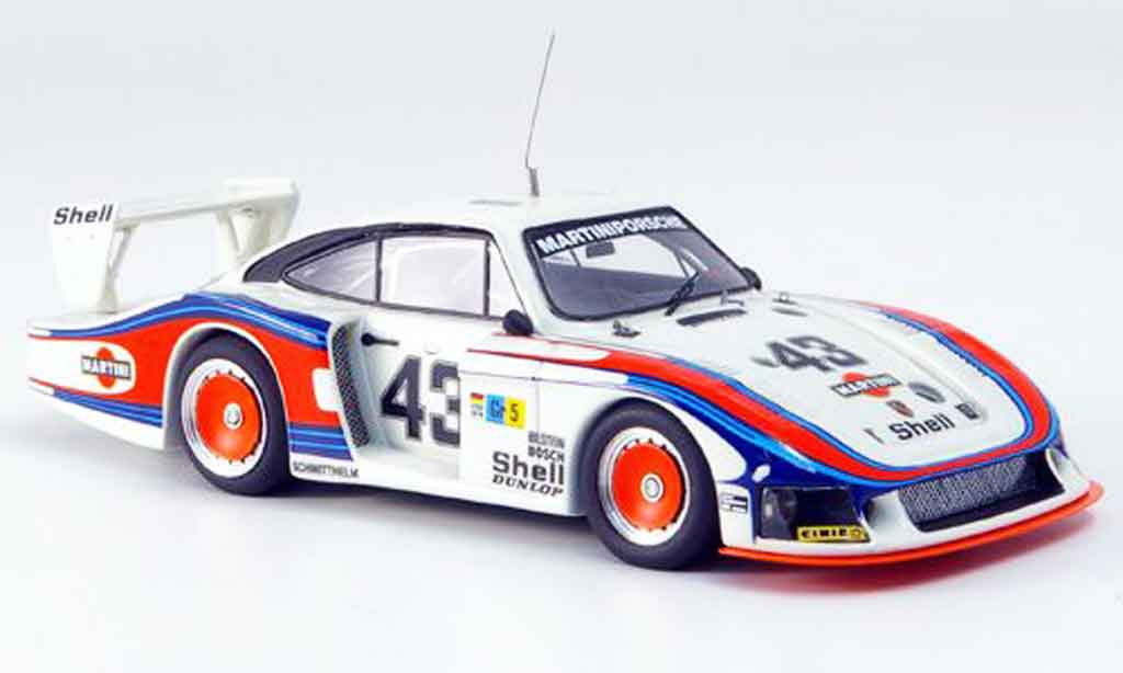 Porsche 935 1978 1/43 Look Smart Moby Dick No.43 Le Mans blanche miniature