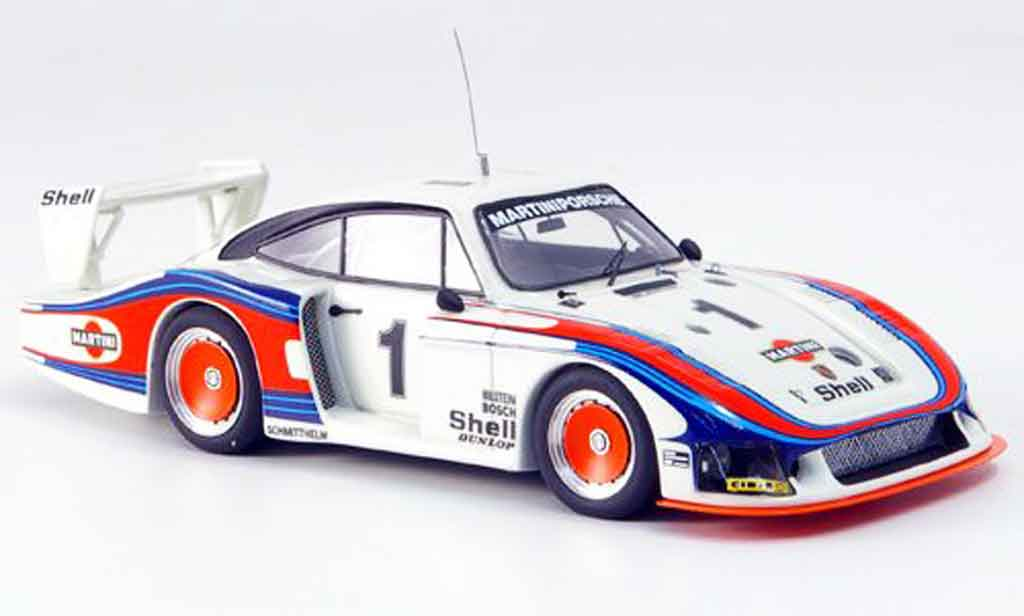 Porsche 935 1978 1/43 Look Smart Moby Dick No.1 Le Mans blanche miniature