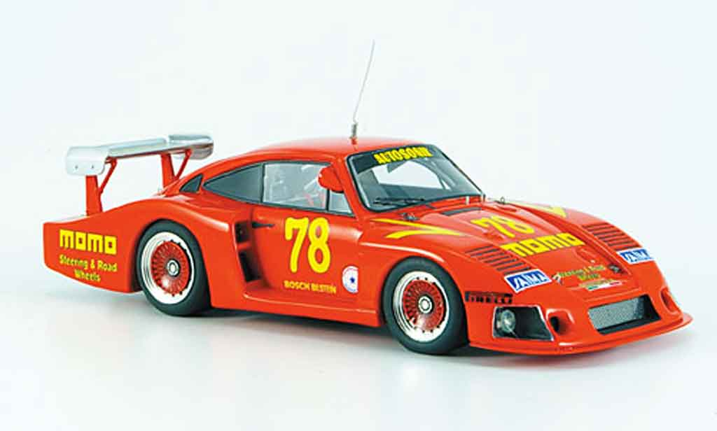 Porsche 935 1980 1/43 Look Smart Moby Dick No.78 Momo orange miniature
