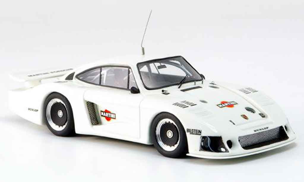 Porsche 935 1978 1/43 Look Smart Moby Dick 1.Prougeotyp blanche miniature