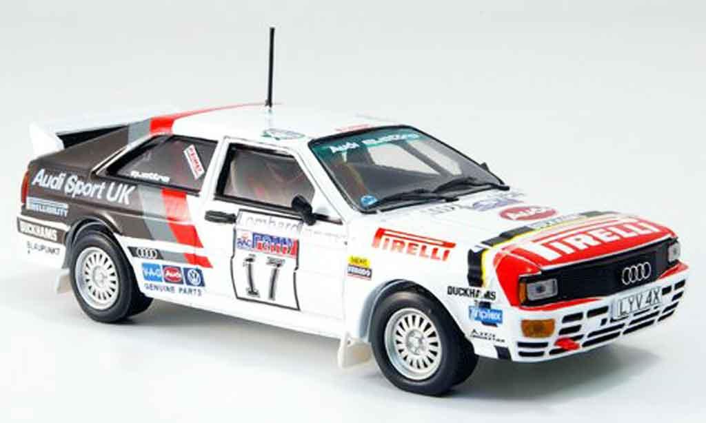 Audi Quattro 1/43 Vitesse No.17 Wilson RAC 1982 miniature