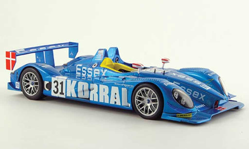 Porsche RS Spyder 1/18 Norev essex le mans 2008 miniature