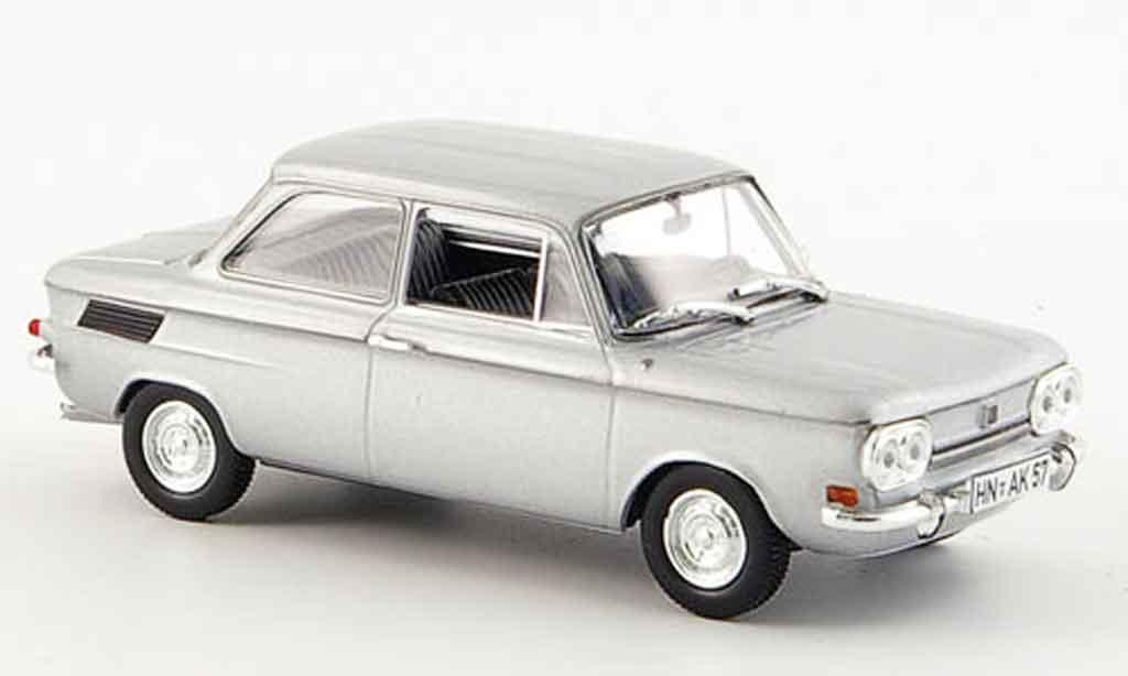 NSU TT 1/43 Norev grise 1969 miniature