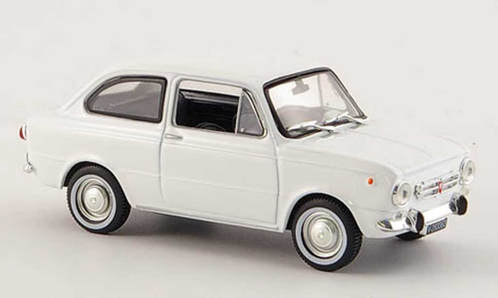 Seat 850 1/43 Norev N blanche 1966 miniature