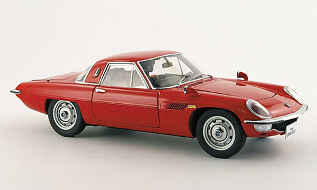 Mazda Cosmo 1/18 Autoart sport rouge miniature