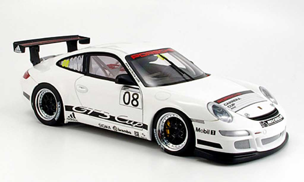 porsche 997 gt3 cup 2008 promo cup autoart modellauto 1 18 kaufen verkauf modellauto online. Black Bedroom Furniture Sets. Home Design Ideas