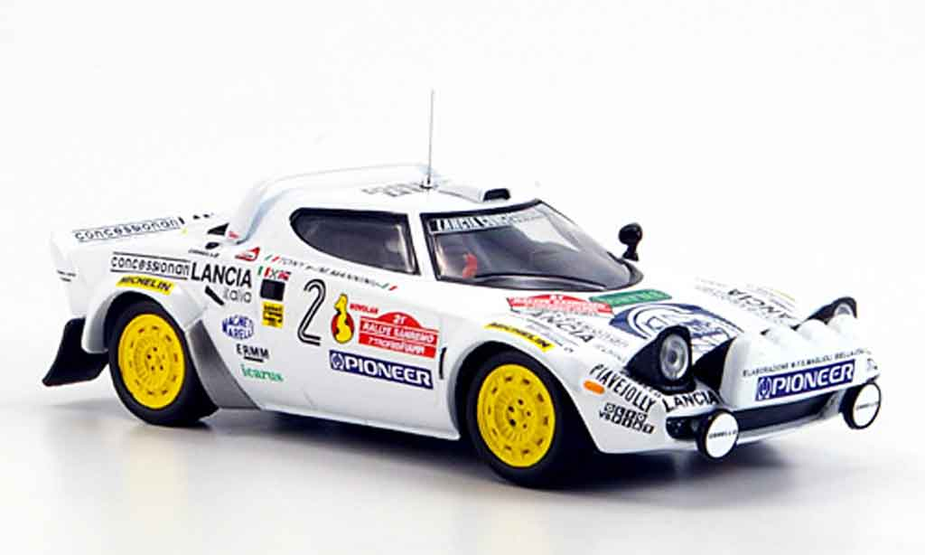 Lancia Stratos Rallye 1/43 IXO hf no.2 tony mannini sieger san remo 1979 miniature