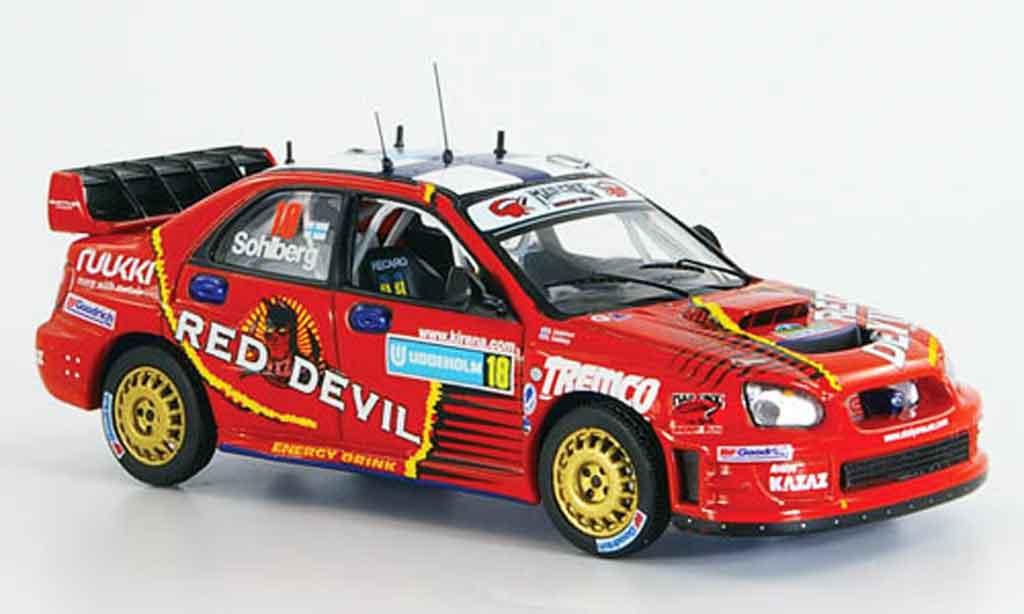 Subaru Impreza WRC 1/43 IXO no.18 sohlberg lindstrom 2006 miniature