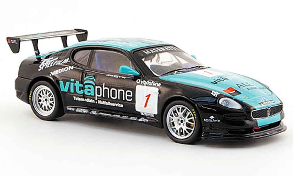 Maserati Grandsport 1/43 IXO trofeo no.1 vitaphone renntaxi 2007 miniature