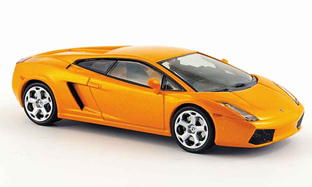 Lamborghini Gallardo 1/43 IXO orange 2003 miniature