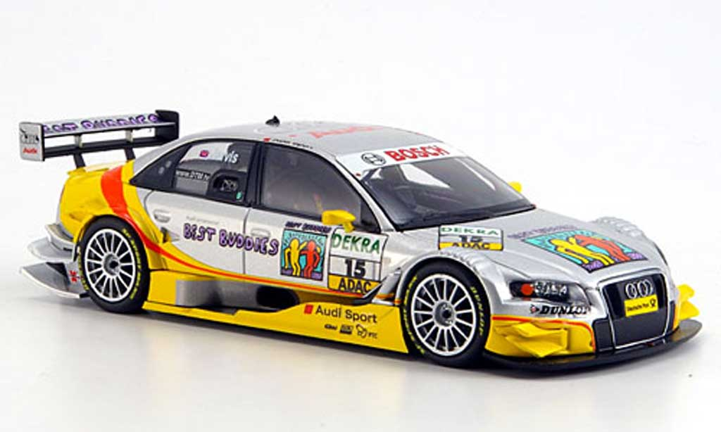 Audi A4 DTM 1/43 Minichamps No.15 Team Phoenix Saison 2008 diecast model cars