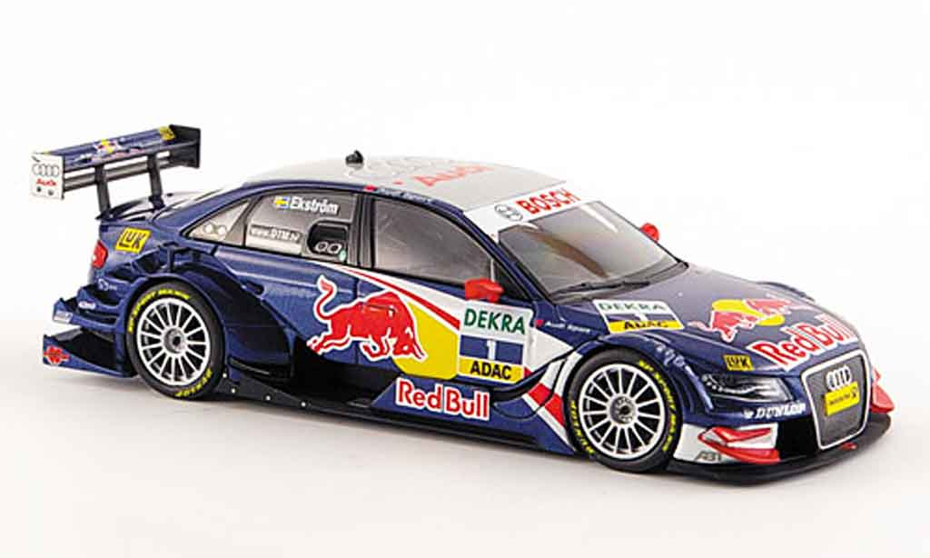 Audi A4 DTM 1/43 Minichamps Abt  Ekstrom Red Bull Team 2008 miniature