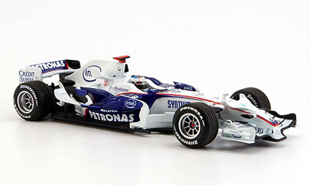 Bmw F1 2008 1/43 Minichamps Sauber .08 Team Heidfeld miniature