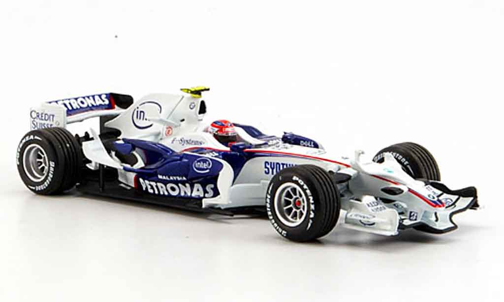 Bmw F1 2008 1/43 Minichamps Sauber F1.08 Team Kubica  miniature